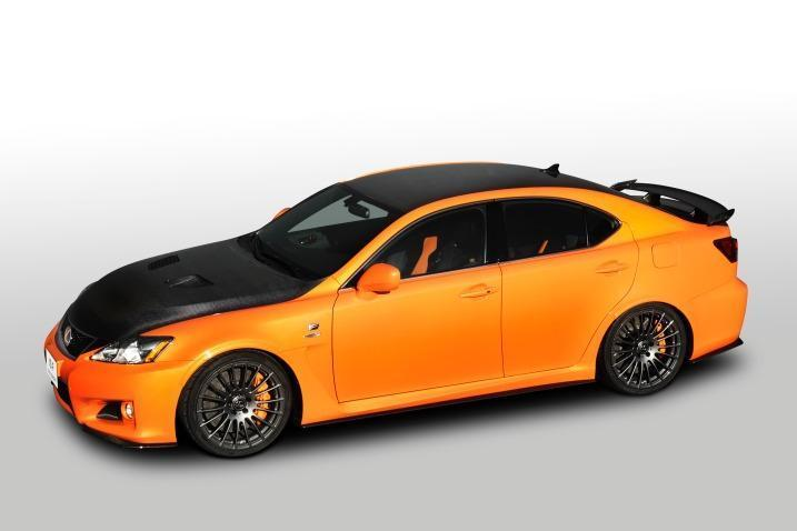 Lexus IS F Circuit Club CarbonFiber