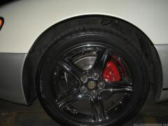 Gs300 Chrome Wheel Red Caliper Chrome Decal