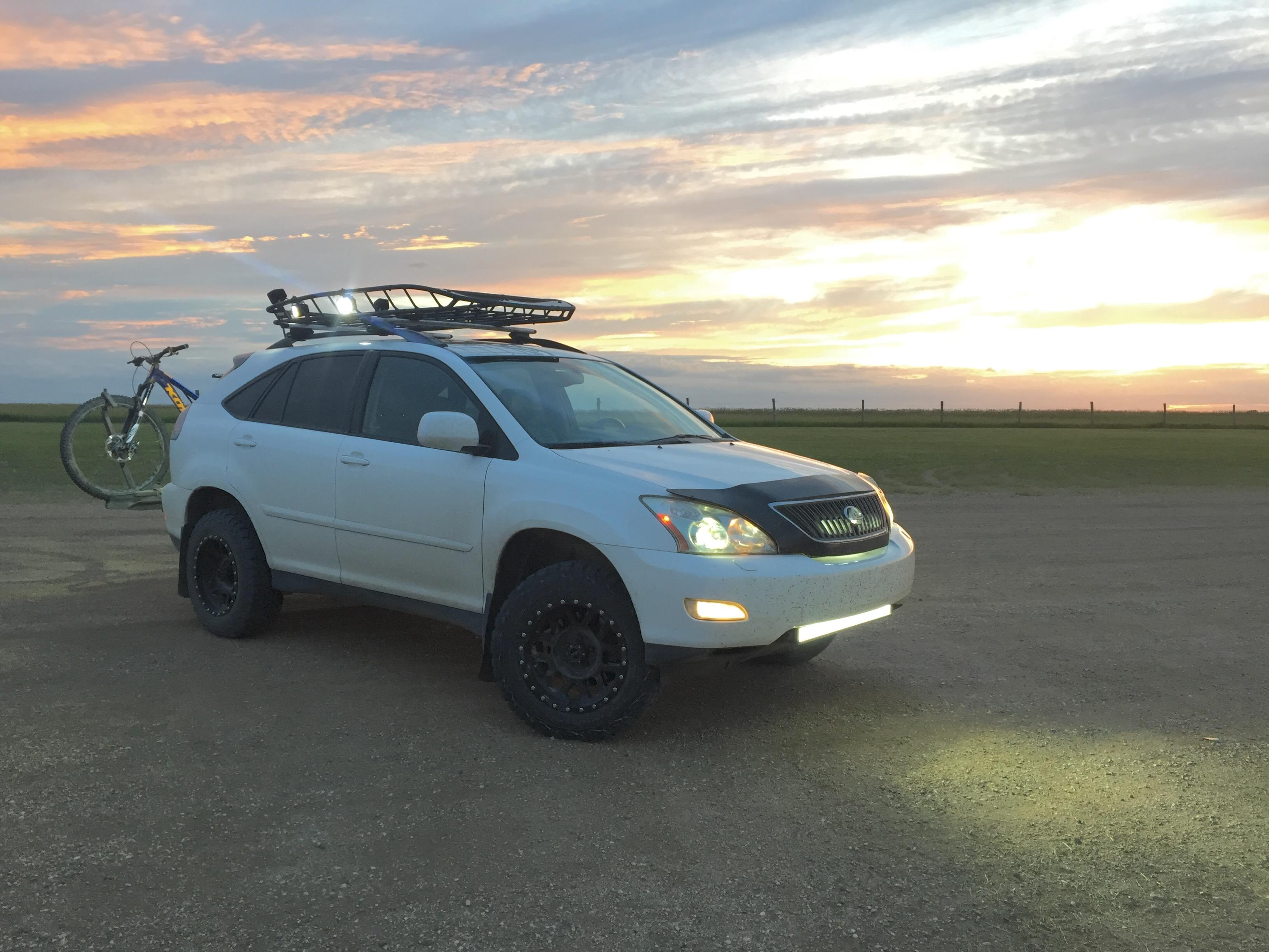 Lifted Rx330 2 5 Actual Suspension Lift 04 09 Lexus Rx330 Rx350 Rx400h Lexus Owners Club Of North America